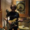 Jeff at House of David recording studio, Nashville