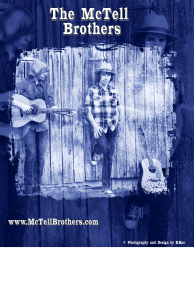 McTell Brothers Poster 11x17 - 2