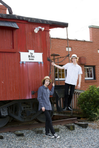 The McTell Brothers Caboose Photo Color